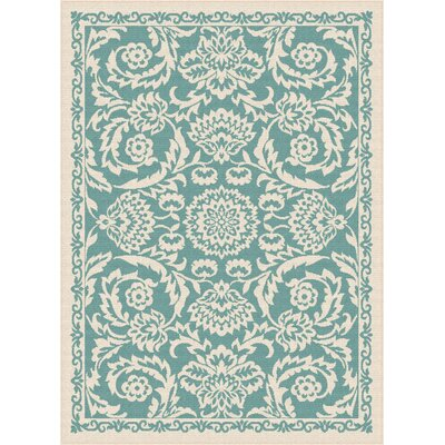 Fairhaven Blue Indoor/Outdoor Area Rug Rug Size: 710 x 103