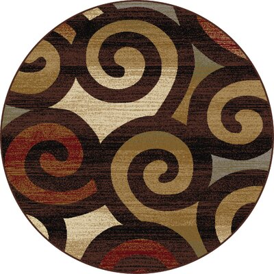 Oneil Area Rug Rug Size: Round 5'3