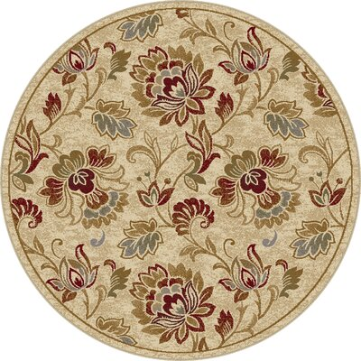 Gunnora Ivory Area Rug Rug Size: Rectangle 53 x 73