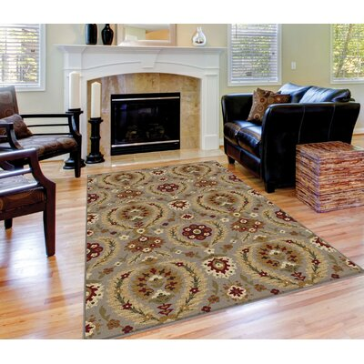 Barbarra Light Blue Area Rug Rug Size: Rectangle 710 x 103