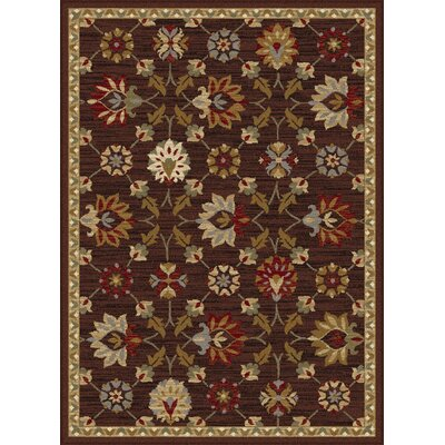 Percy Brown Area Rug Rug Size: 76 x 910