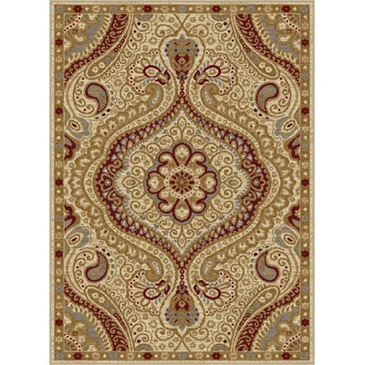 Ramsey Ivory Area Rug Rug Size: Rectangle 76 x 910