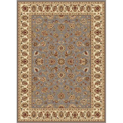 Troxell Transitional Orange Area Rug Rug Size: 5 x 7