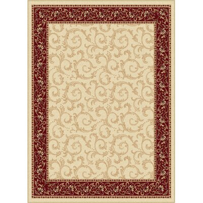 Langlee Beige Area Rug Rug Size: Rectangle 5 x 7