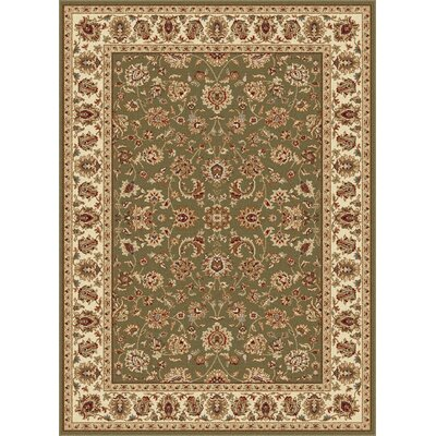 Laplant Oriental Orange Area Rug Rug Size: Rectangle 5 x 7