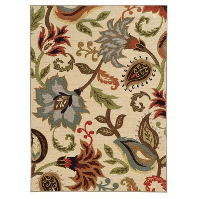 Brickhill Ivory Area Rug Rug Size: Rectangle 710 x 10