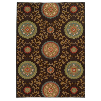 Roger Brown Area Rug Rug Size: 53 x 73