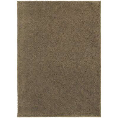 Hanson Beige Area Rug Rug Size: Rectangle 53 x 73