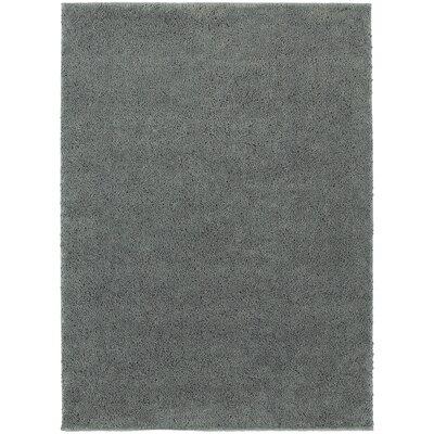 Hanson Blue Area Rug Rug Size: 53 x 73