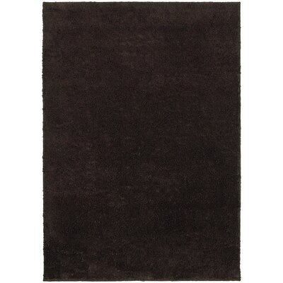 Hanson Brown Area Rug Rug Size: 67 x 93