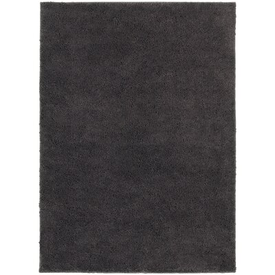 Hanson Grey Area Rug Rug Size: Rectangle 53 x 73