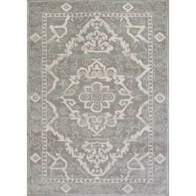Avery Gray Area Rug Rug Size: 710 x 102