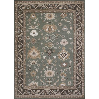 Avery Light Green Area Rug Rug Size: Rectangle 710 x 102