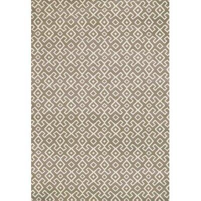 Durham Dark Beige Area Rug Rug Size: 53 x 73
