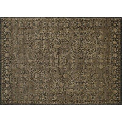 Benson Light Brown Area Rug Rug Size: 33 x 411