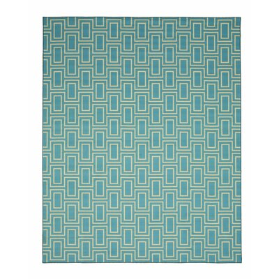 Allison Blue Area Rug Rug Size: Rectangle 43 x 511