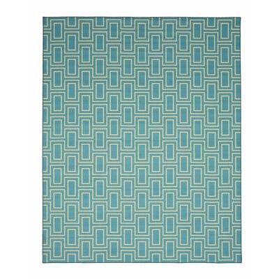 Allison Blue Area Rug Rug Size: 710 x 910