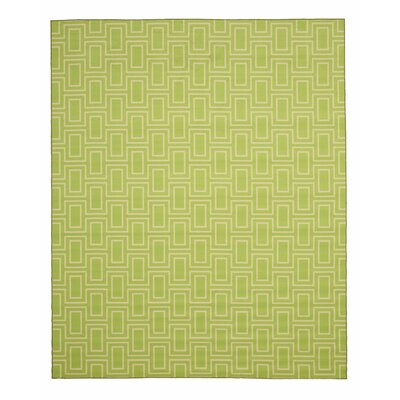 Allison Green Area Rug Rug Size: Rectangle 53 x 73
