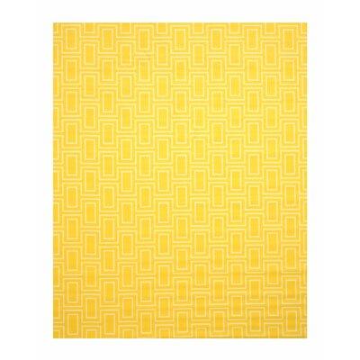 Allison Yellow Area Rug Rug Size: 810 x 1110