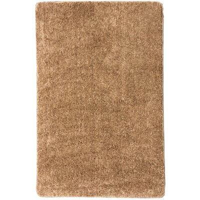 Soft Beige Area Rug Rug Size: 3'3