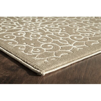 Sheldon Tan Area Rug Rug Size: Runner 22 x 8