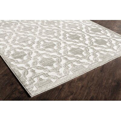 Sheldon Cream Area Rug Rug Size: Runner 22 x 8