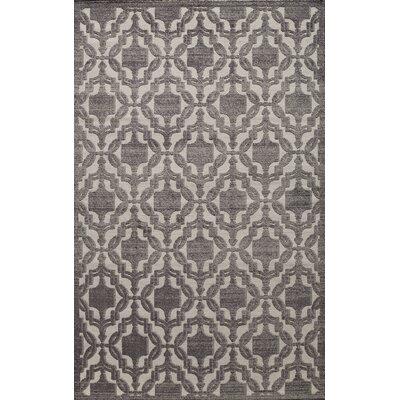 Sheldon Charcoal Area Rug Rug Size: 27 x 411