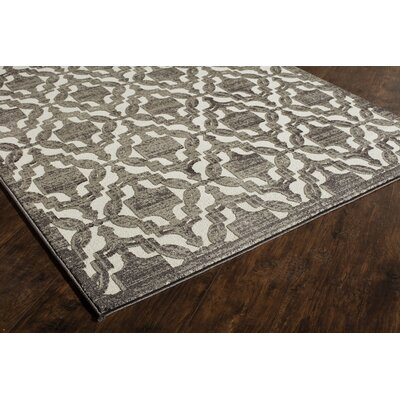 Sheldon Charcoal Area Rug Rug Size: Runner 22 x 8