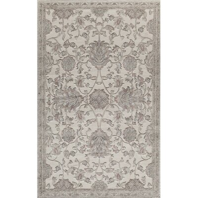 Sheldon Cream Area Rug Rug Size: 5 x 8