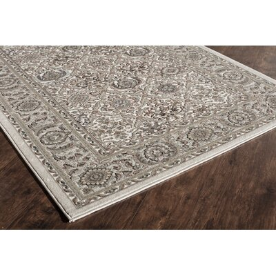 Sheldon Gray Area Rug Rug Size: Runner 22 x 8