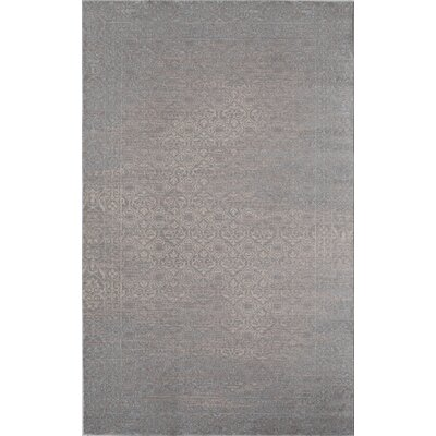 Carter Blue/Gray Area Rug Rug Size: 5 x 8