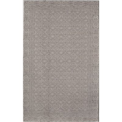 Carter Gray/Ivory Area Rug Rug Size: 5 x 8