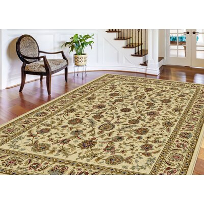 Colesville 3 Piece Ivory Area Rug Set