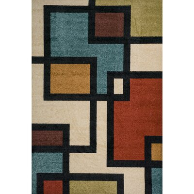 Darcy Beige Indoor/Outdoor Area Rug Rug Size: 710 x 910