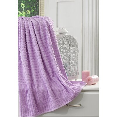 Yorkshire Piano Bath Sheet Color: Levander