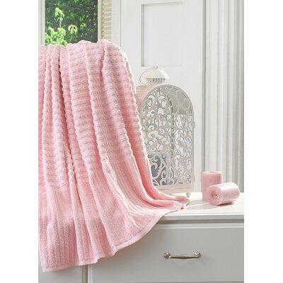 Yorkshire Piano Bath Sheet Color: Pink