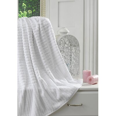 Yorkshire Piano Bath Sheet Color: White