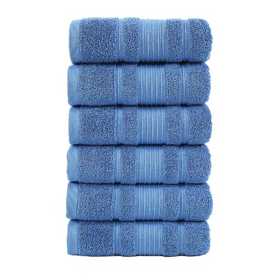 Yorkshire Hand Towel Color: Blue