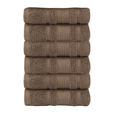 Yorkshire Hand Towel Color: Brown