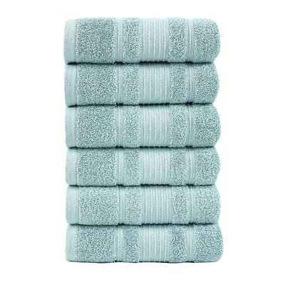 Yorkshire Hand Towel Color: Mint
