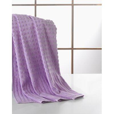 Yorkshire Piano Bath Towel Color: Levander