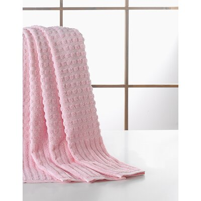 Yorkshire Piano Bath Towel Color: Pink