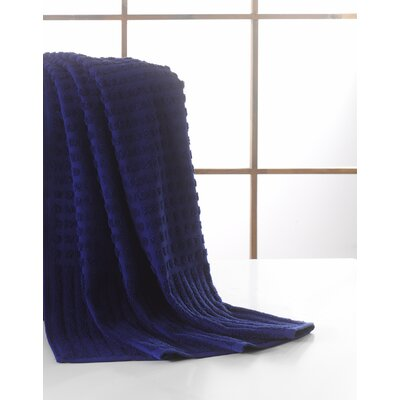 Yorkshire Piano Bath Towel Color: Midnight Blue