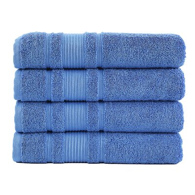 Yorkshire Bath Towel Color: Blue