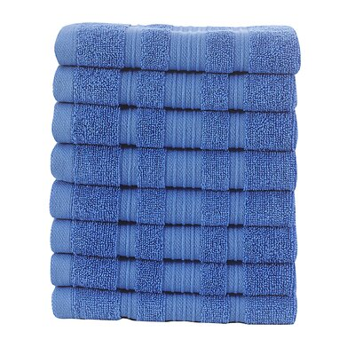 Yorkshire Wash Cloth Color: Blue
