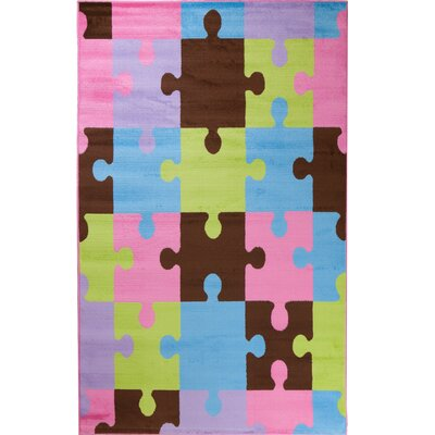 Alisa Jigsaw Puzzle Kids Rug Rug Size: 34 x 5