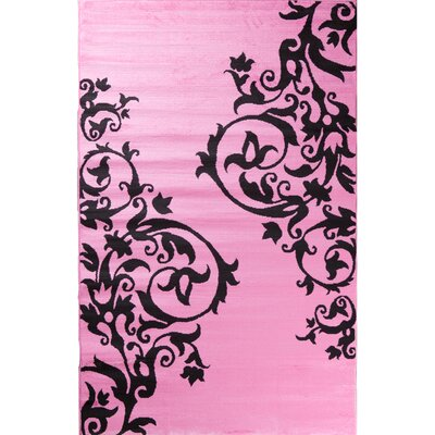 Alisa Tatoo Scroll Kids Area Rug Rug Size: 27 x 41