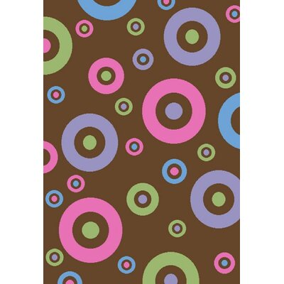 Alisa Dots in Dots Kids Rug Rug Size: 27 x 41