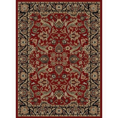 Ankara Sultanabad Red Area Rug Rug Size: Rectangle 53 x 73