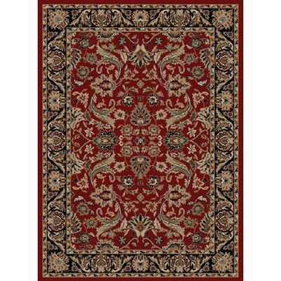 Ankara Sultanabad Red Area Rug Rug Size: 710 x 1010
